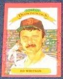 1990 Donruss Diamond Kings Ed Whitson #26 Padres