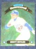 1992 Donruss Diamond Kings Brett Butler #DK-18 Dodgers