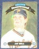 1992 Donruss Diamond Kings Jay Bell #DK-17 Pirates