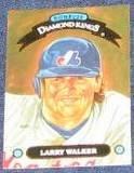 1993 Donruss Diamond Kings Larry Walker #DK-6 Expos