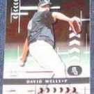 2001 Playoff Absolute David Wells #148 White Sox
