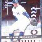 2001 Playoff Absolute Orlando Hernandez #100 Yankees