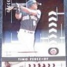 2001 Playoff Absolute Timo Perez #78 Mets