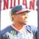 1992 Studio Albert Belle #95 Indians