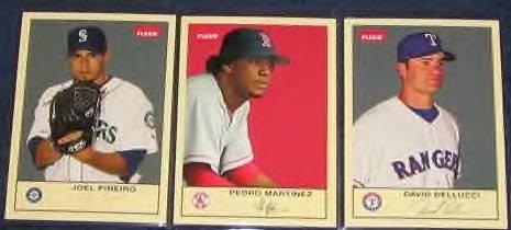 2005 Fleer Tradition Pedro Martinez #149 Red Sox