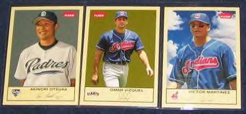 2005 Fleer Tradition Victor Martinez #273 Indians