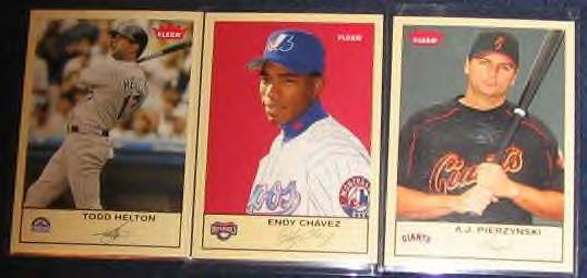 2005 Fleer Tradition Endy Chavez #179
