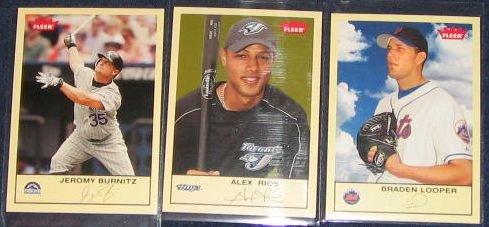 2005 Fleer Tradition Alex Rios #202