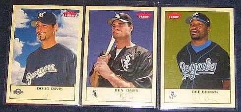 2005 Fleer Tradition Dee Brown #138