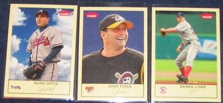 2005 Fleer Tradition Josh Fogg #257
