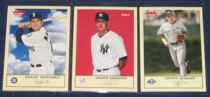 2005 Fleer Tradition Javier Vazquez #126