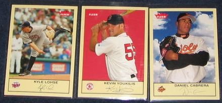 2005 Fleer Tradition Kevin Youkilis #228