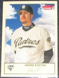 2005 Fleer Tradition Adam Eaton #43 Padres