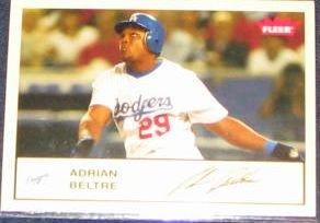 2005 Fleer Tradition Adrian Beltre #255 Dodgers