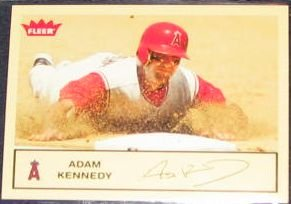 2005 Fleer Tradition Adam Kennedy #159 Angels