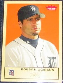 2005 Fleer Tradition Bobby Higginson #141 Tigers