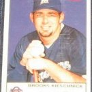 2005 Fleer Tradition Brooks Kieschnick #54 Brewers