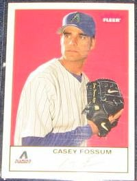 2005 Fleer Tradition Casey Fossum #45 Diamondbacks