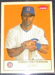 2005 Fleer Tradition Corey Patterson #86 Cubs