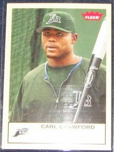 2005 Fleer Tradition Carl Crawford #274 Devil Rays