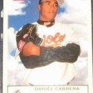 2005 Fleer Tradition Daniel Cabrera #230 Orioles
