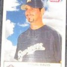 2005 Fleer Tradition Doug Davis #48 Brewers