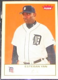 2005 Fleer Tradition Esteban Yan #166 Tigers
