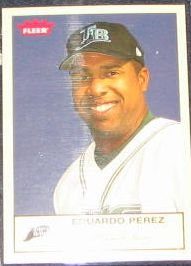 2005 Fleer Tradition Eduardo Perez #295 Devil Rays