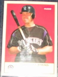 2005 Fleer Tradition Garrett Atkins #64 Rockies