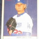 2005 Fleer Tradition Jeff Weaver #133 Dodgers