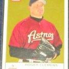 2005 Fleer Tradition Roger Clemens #19 Astros