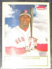 2005 Fleer Tradition David Ortiz #157 Red Sox