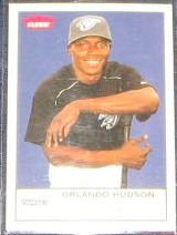 2005 Fleer Tradition Orlando Hudson #269 Blue Jays