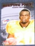 01 Fleer Tradition Keeping Pace Travis Henry #12 Bills