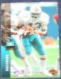 1994 UD Electric Silver Terry Kirby #316 Dolphins