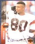 1994 UD Electric Silver Carl Pickens #245 Bengals