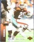 1994 UD Electric Silver Eric Metcalf #276 Browns