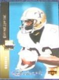 1994 UD Electric Silver Tyrone Hughes #319 Saints