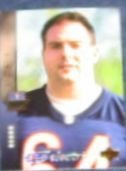 1994 UD Electric Silver Andy Heck #41 Bears