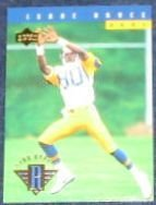 1994 UD Star Rookie Isaac Bruce #22 Rams