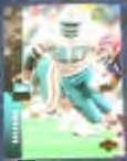 1994 UD Marco Coleman #196 Dolphins