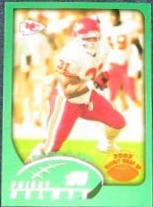 2002 Topps Weekly Wrap Up Priest Holmes #298 Chiefs