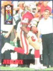 1994 Classic Jerry Rice #89 49ers