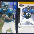 2002 Fleer Ultra Hot Prospects Ray Lewis #59 Raven