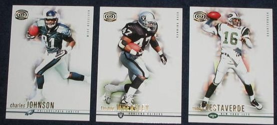 2001 Pacific Dynagon Tyrone Wheatley #69 Raiders