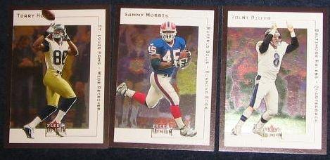 2001 Fleer Premium Sammy Morris #23