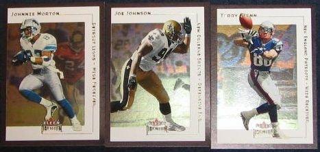 2001 Fleer Premium Johnnie Morton #149