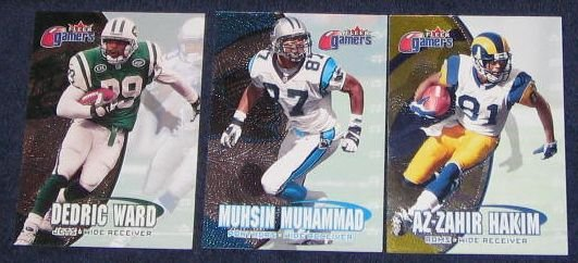2000 Fleer Gamers Dedric Ward #8