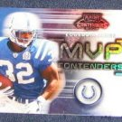 2002 Playoff MVP Contenders Edgerrin James #MVP4