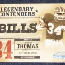 2002 Playoff Legendary Contenders Thurman Thomas #13